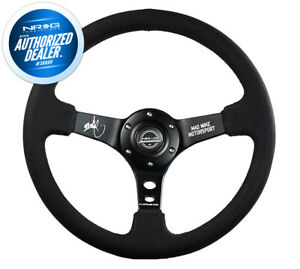 New Nrg Mad Mike Signature Steering Wheel 350mm 3 Deep Dish Rst 020mb mm