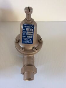 Watts Water Pressure Reducing Valve 1 2 25aub Water Pressure Reducing Valve