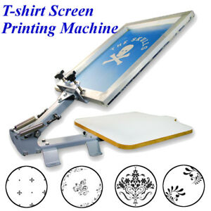 11tm Table Board Fixed Single 1 Color 1 Station T shirt Screen Printing