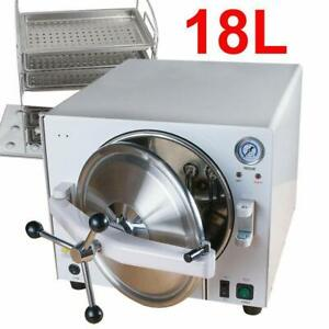 Dental Medical 18l Autoclave Steam Sterilizer Lk d15 Sterilization Equipment Us