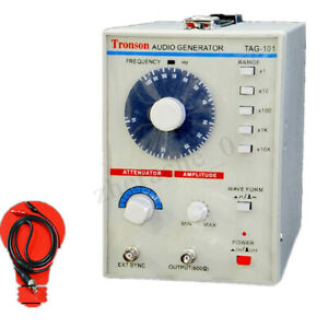 110v Signal Source 10hz 1mhz Audio Low Frequency Signal Generator Tag 101