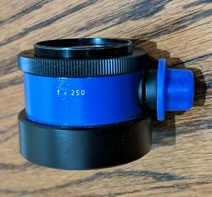 Carl Zeiss F250 F 250 Fine Focusing Objective Lens For Opmi Surgical Microscope