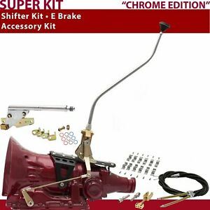 Fmx Shifter Kit 23 Swan E Brake Cable Clamp For D22b4 Manual Tunnel Ram Blazer