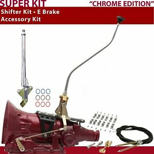 C4 Shifter Kit 23 Swan E Brake Cable Clamp For D1f33 Short Wide Shifter 302