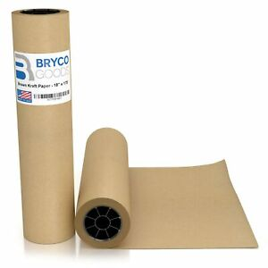 Brown Jumbo Kraft Paper Roll 18 X 2100 175 Made In The Usa Ideal For