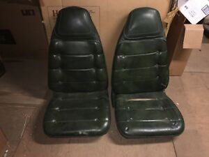 1972 1973 1974 Dodge Charger Challenger B body Bucket Seats Plymouth Cuda Green