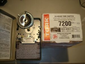 Tork 7200 Time Clock New For Parts