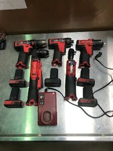 Snap On 14 4v 5 Pc Drill Driver Impact Set Snapon