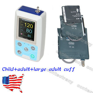 Abpm50 Automatic Ambulatory Blood Pressure Monitor 24hour Nibp child adult large