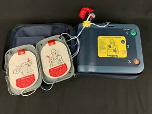 Philips Heartstart Frx Trainer Aed Training Defib Pads And Case 7 Available
