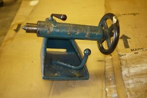 Oliver No 51 Lathe Tail Stock Complete Nice