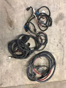 2007 Ford Super Duty Boss Snow Plow Wiring Harness
