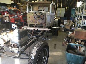 Ford Model A aa Truck Project