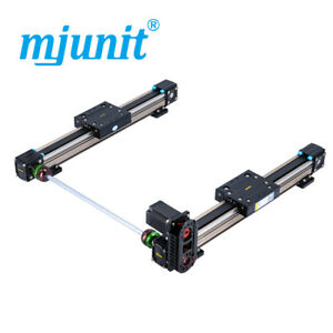 Mjunit Mj50 High Quality 50mm Cnc Linear Guide Rail With 1000mm Stroke 2 Rails