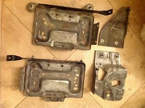1994 95 96 1997 Ford F250 F350 Diesel 7 3 Engine Left And Right Battery Trays
