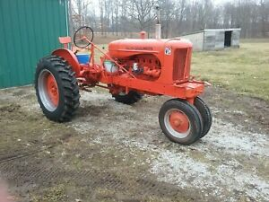 Antique 1942 Allis Chalmers Tractor New Tires Rims