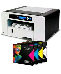 Ricoh 3110 Sublimation Printer With Ink And Paper New