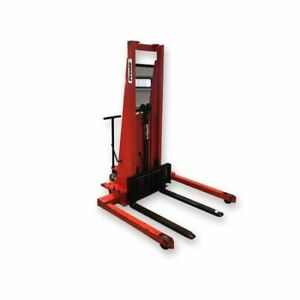 Used 2 000 Lb Capacity Prestolifts Model Psa Straddle Stackers