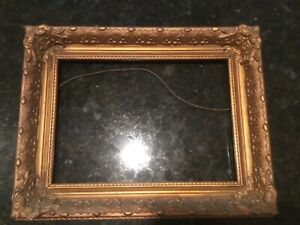 Vintage Wood Picture Frame 8 1 2 X 14 1 2