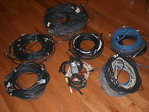 Huge Lot Bnc Coax Precision Video Broadcast Cable Starquad Audio