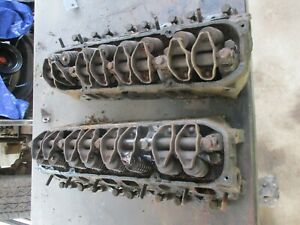 Mopar Dodge 440 Cylinder Heads Cast Number 4006452 Oem Pair W All Head Bolts
