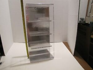 Calvin Klein Collection 4 Pair Glasses Sunglasses Frame Acrylic Display Stand