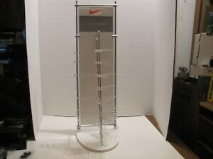 Nike 8 Pair Glasses Sunglasses Frame Acrylic metal Display Stand W 6 Paper Inser