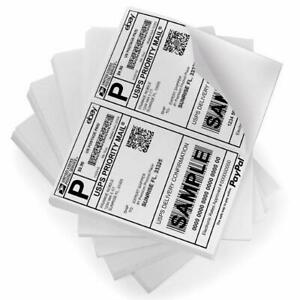 Packingsupply Shipping Labels With Self Adhesive For Laser Inkjet Printers 8