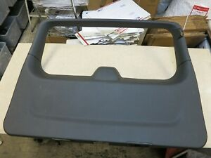 2007 2014 Chevrolet Tahoe Liftgate Hatch Tail Gate Upper Lower Trim Cover Oem