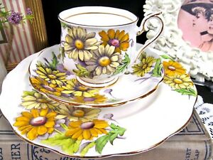 Royal Albert Tea Cup And Saucer Fotm Hand Painted Daisy Trio Teacup This Is 4