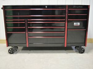 Snap On Black Red Trim Kmp1163 Tool Box And Work Mat