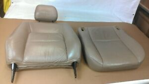 1997 1998 1999 2000 2001 Toyota Camry Tan Beige Leather Front Driver Seat
