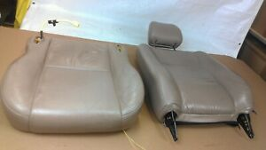 1997 1998 1999 2000 2001 Toyota Camry Tan Beige Leather Front Driver Seat Lumbar