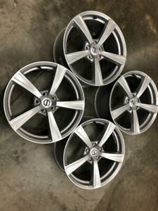 2019 Volvo Xc90 18x8 Inch 5 Spoke Wheels Take Off Set