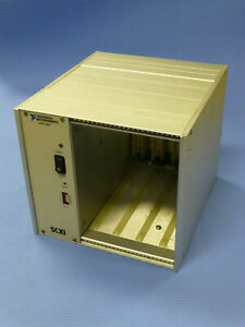National Instruments Ni Scxi 1000 4 slot Chassis W Power Module