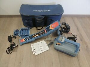 Radiodetection Rd7100 Pl Utility Cable Pipe Locator Radiodetection Tx 10