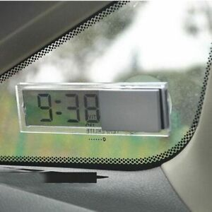 Automotive Interior Digital Lcd Display Car Electronic Clock Schedule Watch
