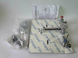 New Fisher Commercial Service Sink Faucet With Watts Lf288a Vacuum Breaker