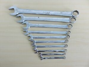 All Snap On Combination Wrench Lot 10 Pc All 12 Pt Oex 1 Oexl Usa Free Ship