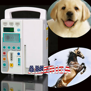Medical Infusion Pump Iv Fluid Equipment With Audible And Visual Alarm Fda Ce