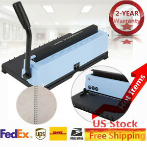 Spiral Coil Calendar 34 Square Hole Punching Binding Machine Durable Us