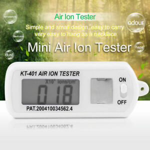 Mini Car Air Aeroanion Air Ion Tester Meter Counter Negative Ions With Peak