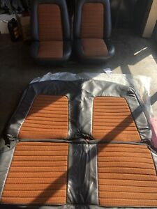 67 69 Camaro Custom Houndstooth Seats And Seat Covers