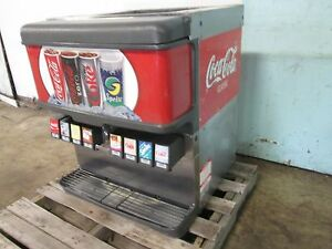 cornelius Df200 bc Heavy Duty Commercial Lighted 8 Heads Soda W ice Dispenser