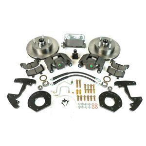 Ssbc A120 4 Mustang Front Disc Brake Conversion Kit Non Power 6 Cylinder 1965 19
