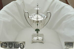Rare George Iii Hm Sterling Silver 2 Handled Samovar Or Tea Urn 1807