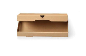 W Packaging Wpfb16x9k 16x9x1 5 Plain Kraft kraft Flatbread Pizza Box B flute Of