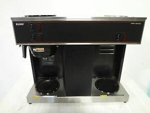 Bunn Heavy Duty Pour Over Counter Top Commercial Coffee Brewer W 3 Warmers