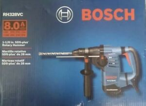 new Bosch 1 1 8 In Sds plus Rotary Hammer Model Rh328vc Free Ship ms4010002