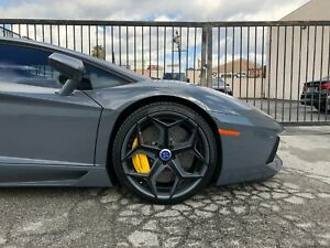 Lamborghini Aventador 20 And 21 Forged Wheel Set